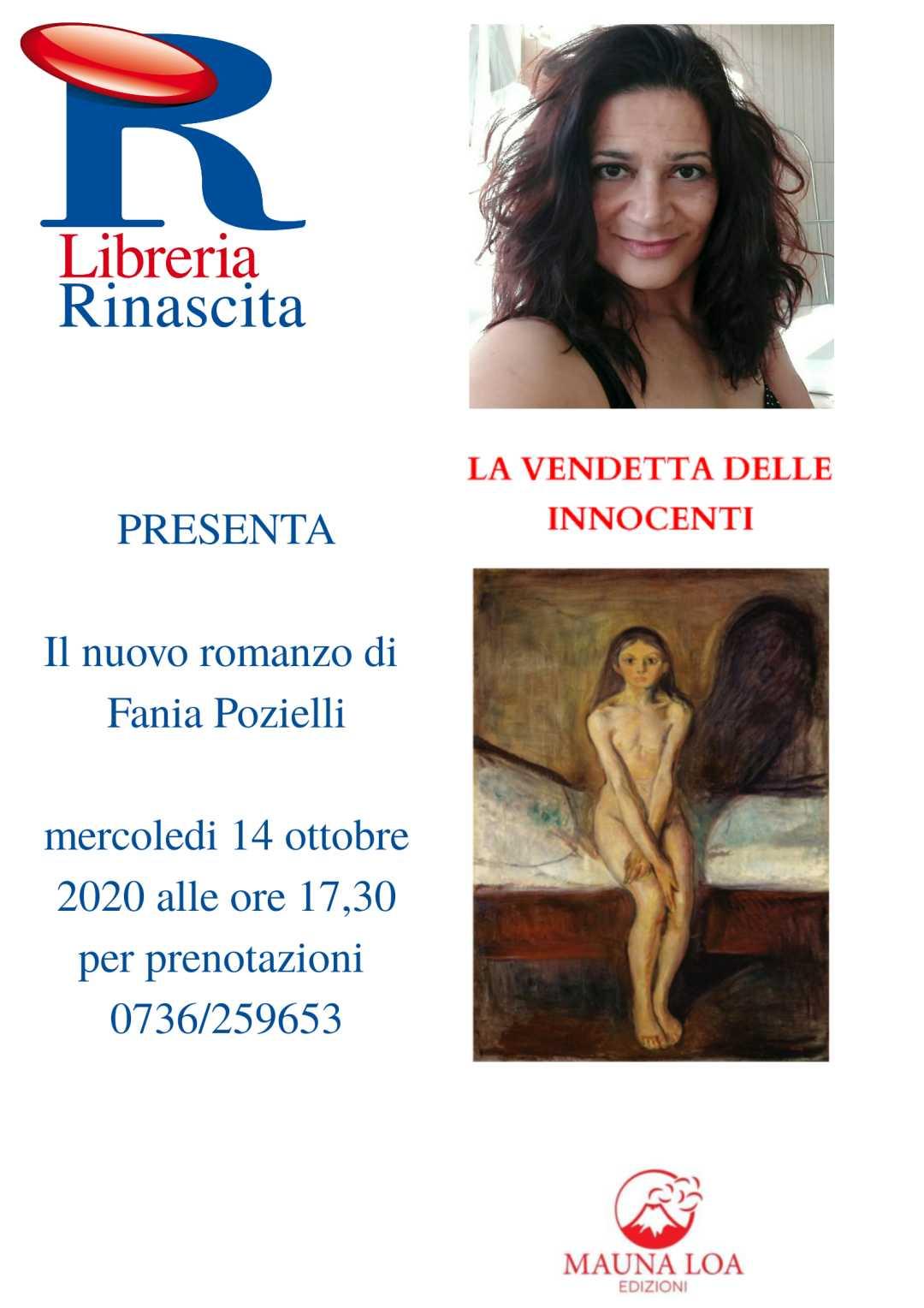 """Fania Pozielli, """"La Vendetta delle Innocenti"""""""