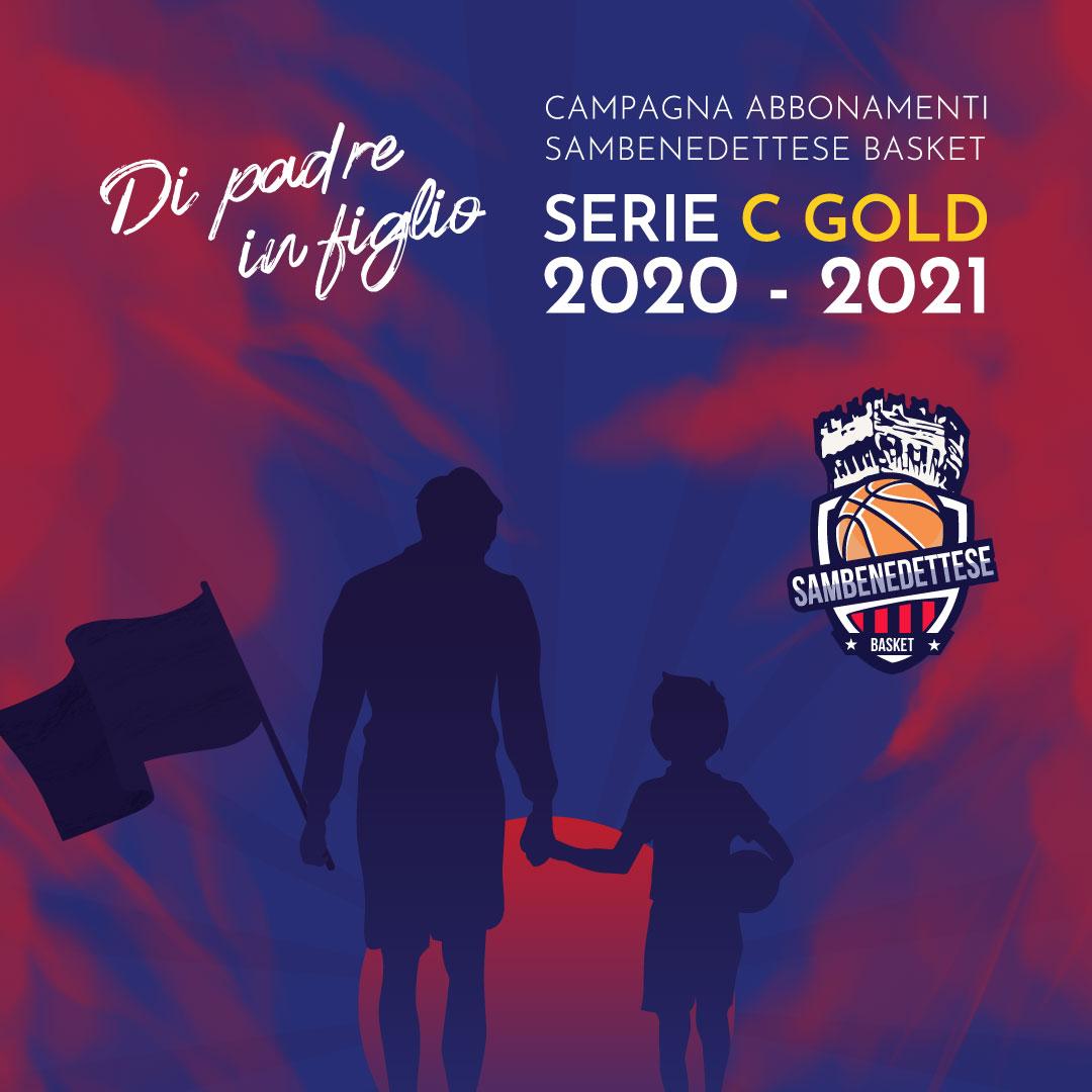 """Samb Basket, """"Di Padre in figlio"""" è la Campagna Abbonamenti 2020/21"""