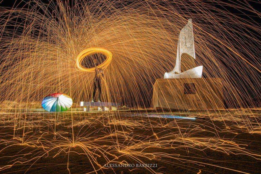 Magia Steel Wool Photography