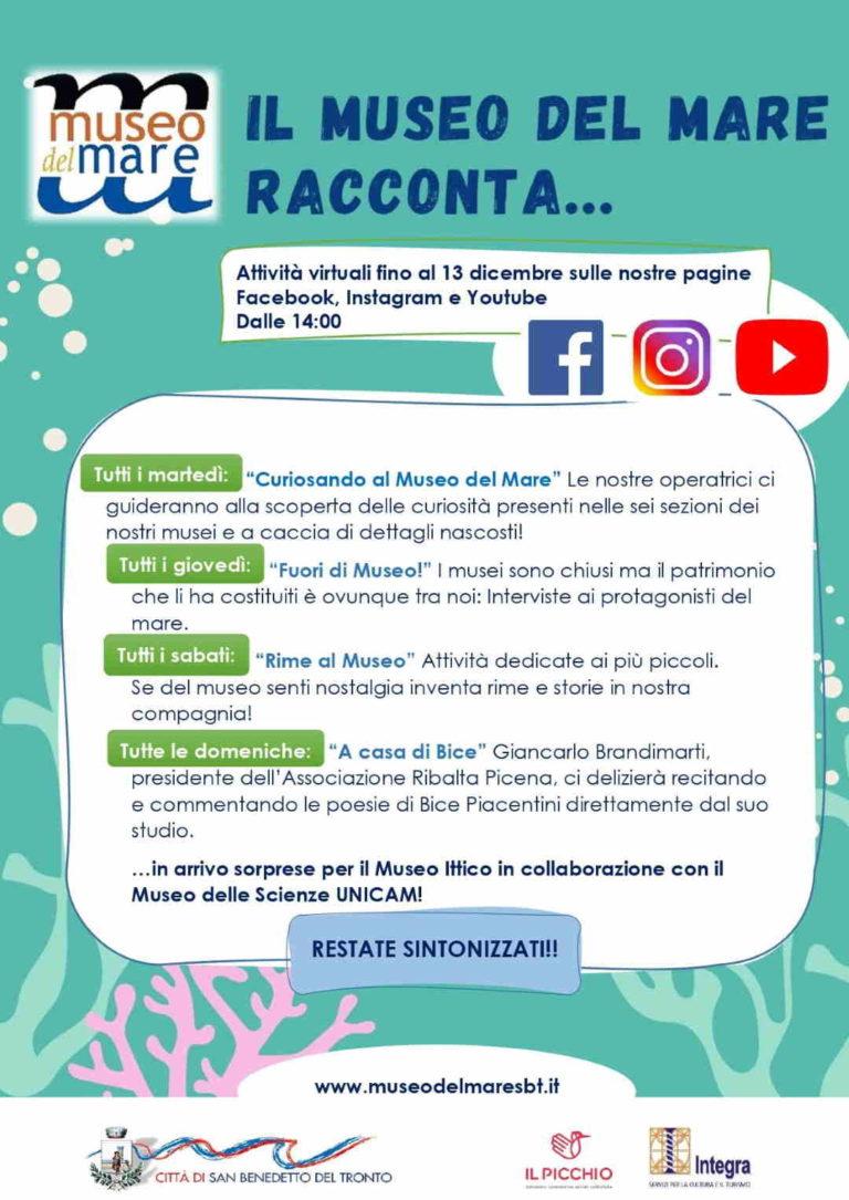 """Il """"Museo del Mare racconta…"""""""