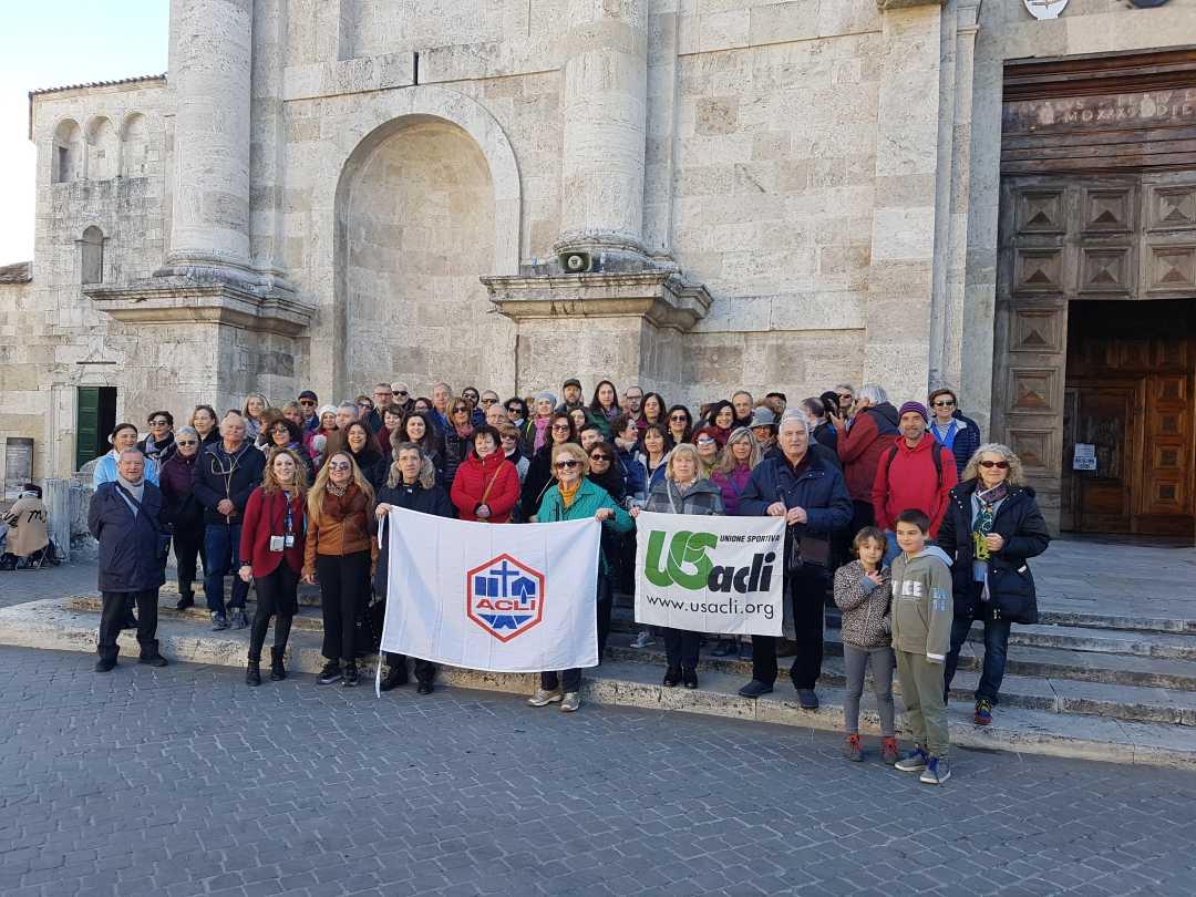 Us Acli, anche nel 2020 le camminate culturali ad Ascoli hanno fatto centro