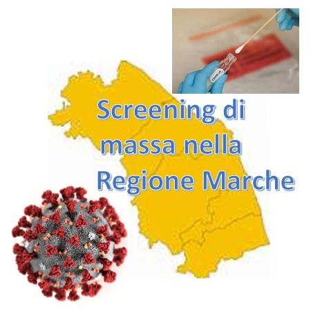 Coronavirus, Le Marche prima Regione d'Italia per lo Screening di massa