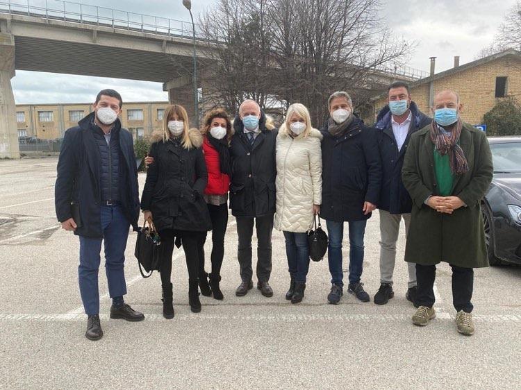 L'Assessore alla Sanità Saltamartini in Città