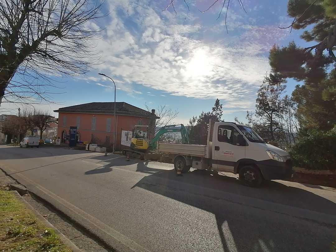 Monteprandone, al via i lavori di riqualificazione di un tratto di marciapiede in Via Borgo da Mare