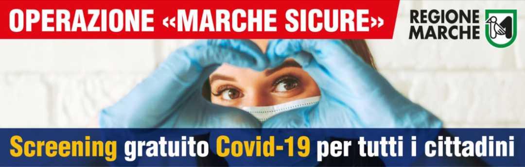 Covid, bollettino screening massa distretto Ascoli