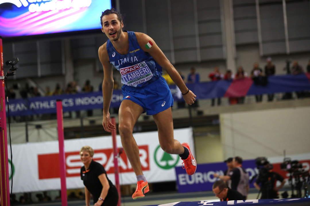 Atletica, Europei indoor: al via c'è Tamberi