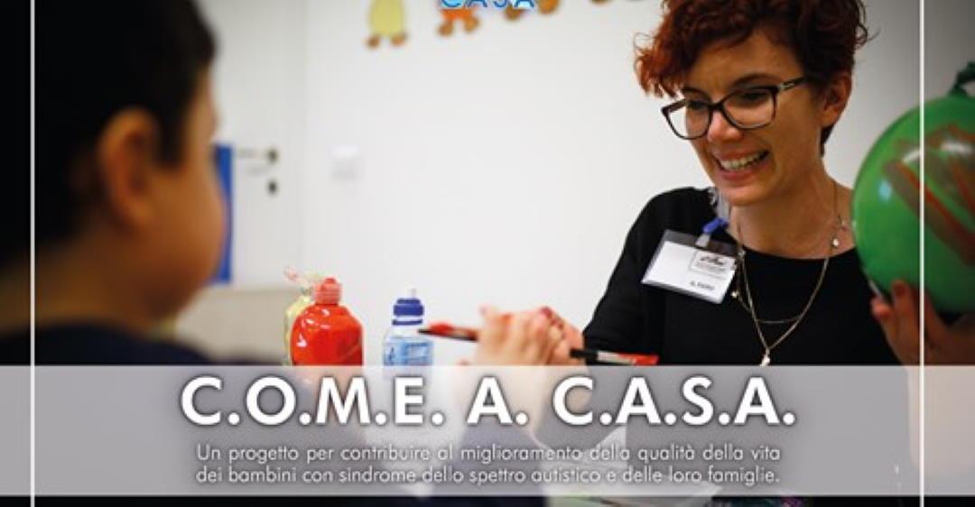 """""""Come a casa"""", progetto per i bimbi con disturbi dello spettro autistico"""