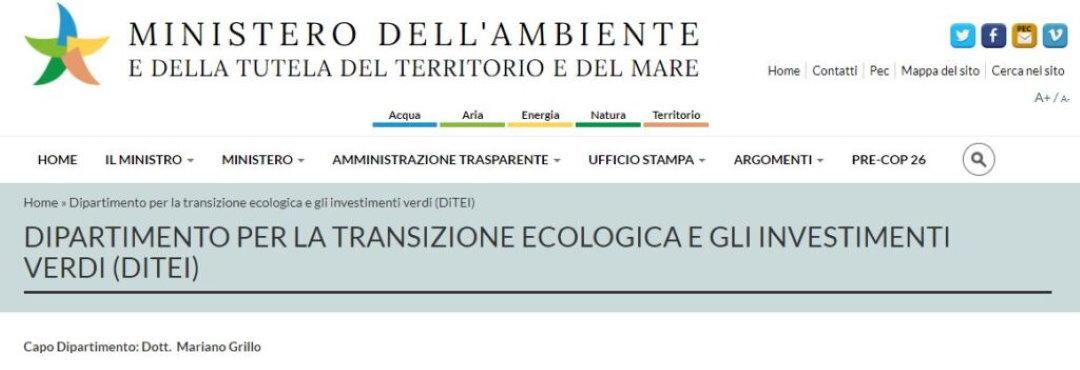 Governo. Grillo e il Ministero della Transizione Ecologica