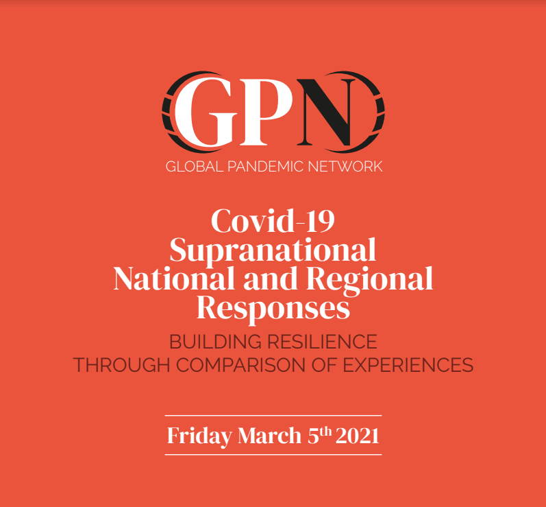 Covid-19. Supernational, national and regional responses