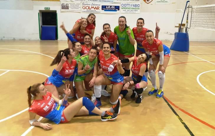 PallaVolo, nove su nove per la Volley Angels che espugna il PalaVecchi di Pagliare 3-1
