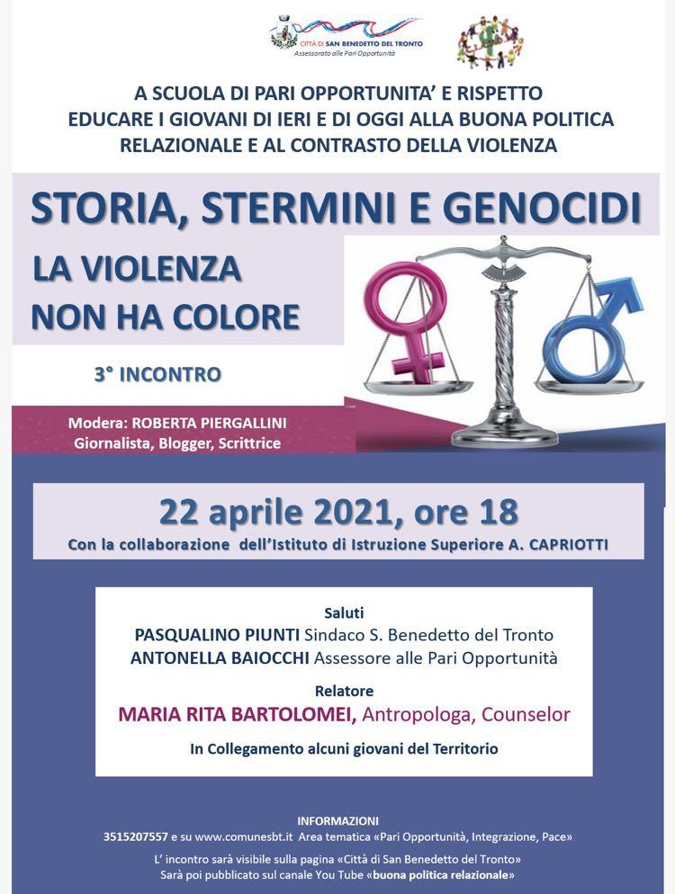 Stermini e genocidi nella storia: la Violenza non ha colore