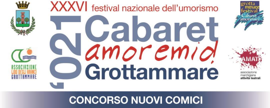 36° Cabaret amoremio! in cerca di nuovi comici
