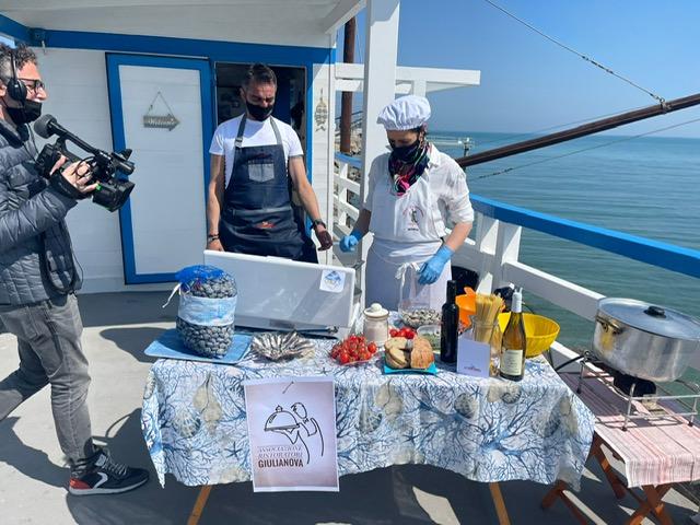 """Il Flag Costa Blu """"Op Vongole Costa del Teramano"""" in onda sul canale La7"""