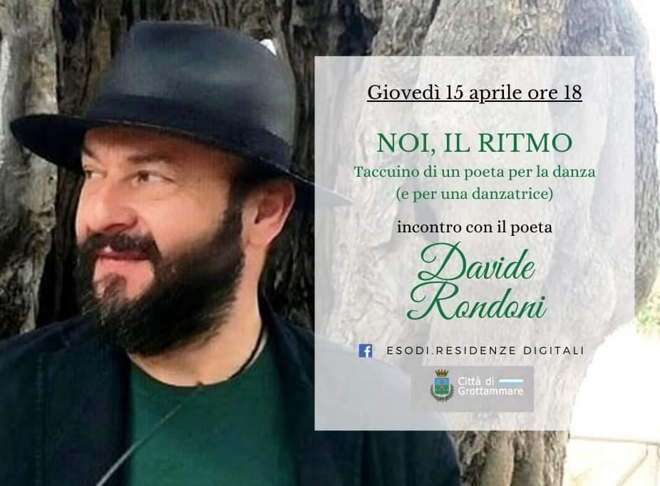 Poesia e danza, evento con Davide Rondoni