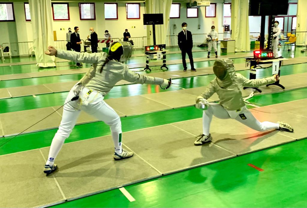 Continuano al PalaScherma di Ancona le gare alle tre armi per partecipare al massimo campionato Under 20