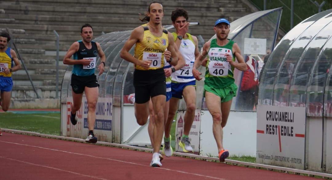 Atletica, 10.000 : i campioni regionali a Tolentino
