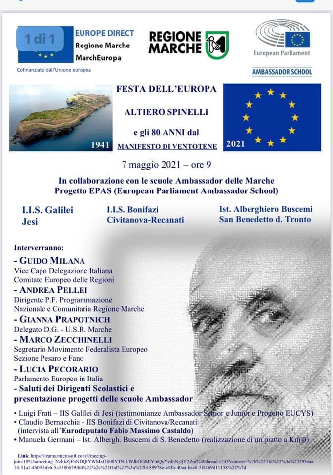 Festa dell'Europa! Protagonista l'Istituto Alberghiero Buscemi