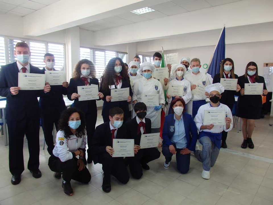 L'Alberghiero Buscemi partecipa alla festa dell'Europa organizzata dalla Europe Direct Regione Marche