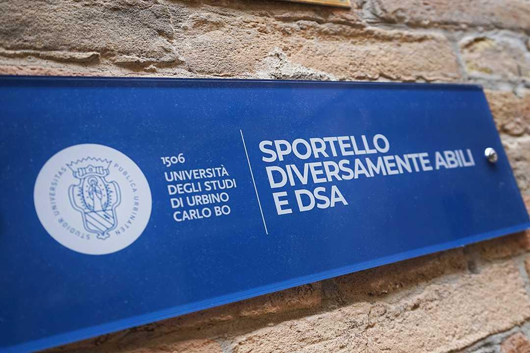 Ora i disabili iscritti a UniUrb hanno uno sportello tutto per loro