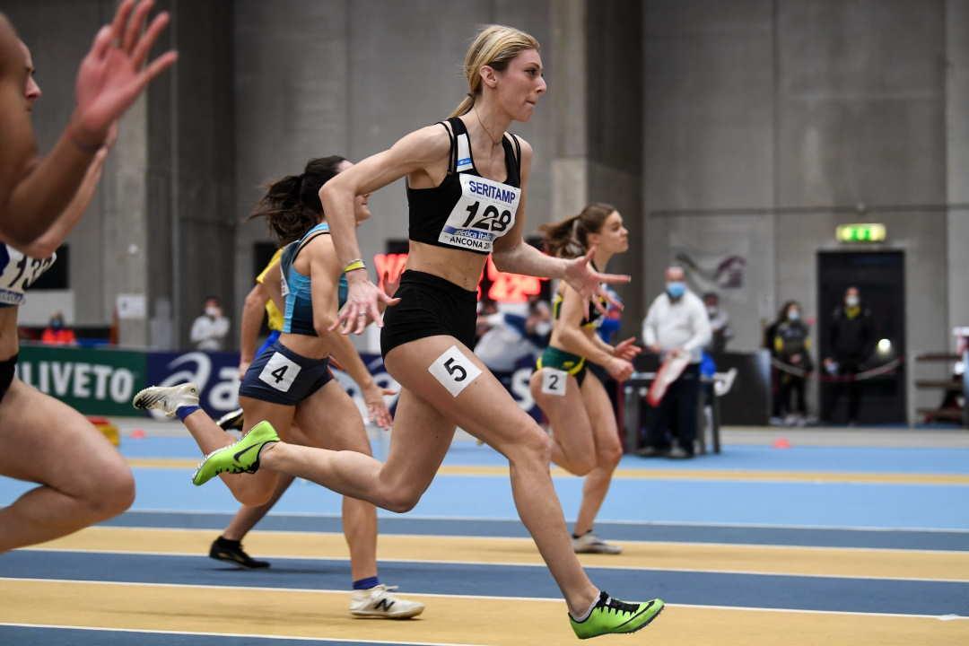 Angelini, che sprint!