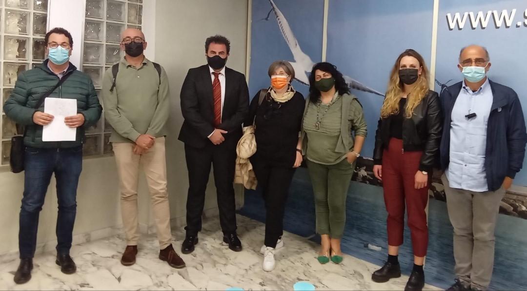 Verso le Elezioni amministrative, incontro tra i candidati Sindaci Aurora Bottiglieri e Serafino Angelini