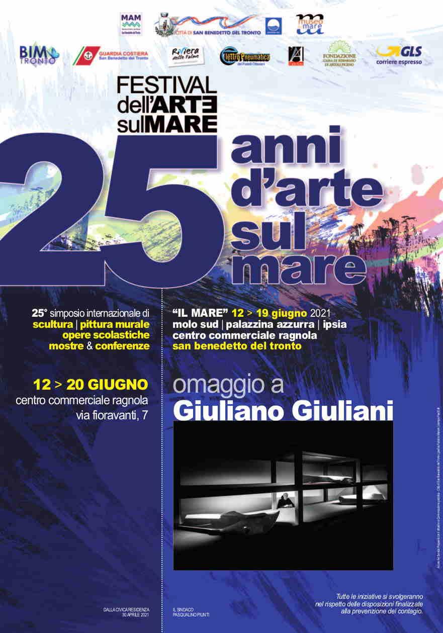 """Verso il 25ennale di """"Scultura Viva"""": omaggio a Giuliano Giuliani"""