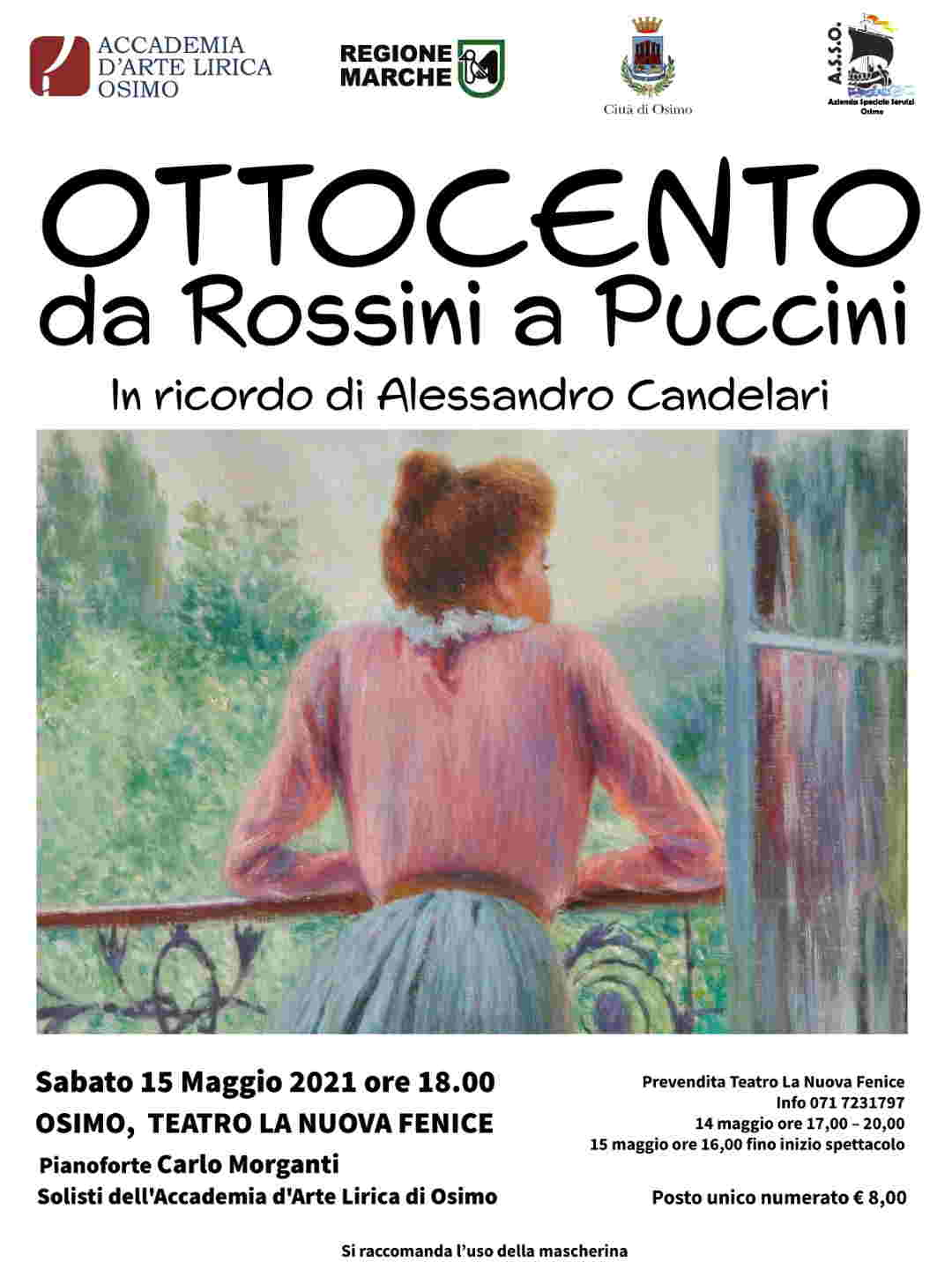 I solisti dell'Accademia d'Arte Lirica di Osimo tornano a fare musica dal vivo con la presenza del pubblico