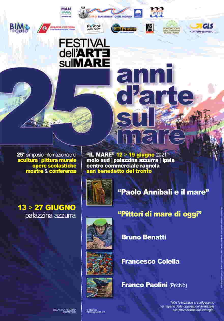 """Verso il 25ennale di """"Scultura Viva"""": un altro importante evento del Festival dell'Arte sul Mare 2021"""
