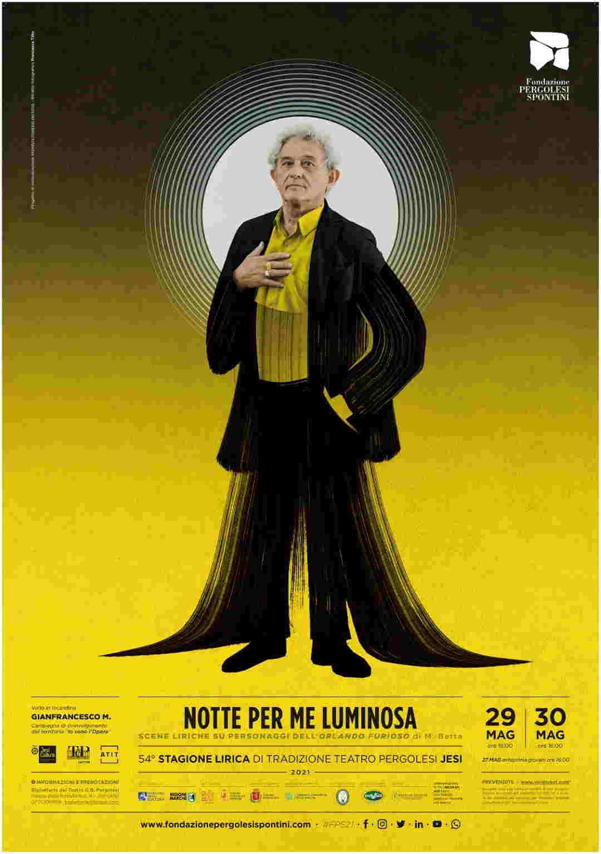 """Il Teatro Pergolesi di Jesi riapre con """"Notte Per me luminosa"""""""