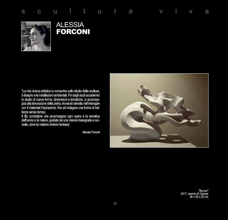 Verso il Festival dell'Arte sul Mare 2021: Alessia Forconi
