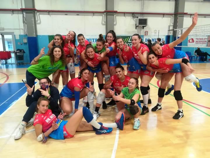 La Volley Angels alle semifinali dei playoff di serie B2 femminile