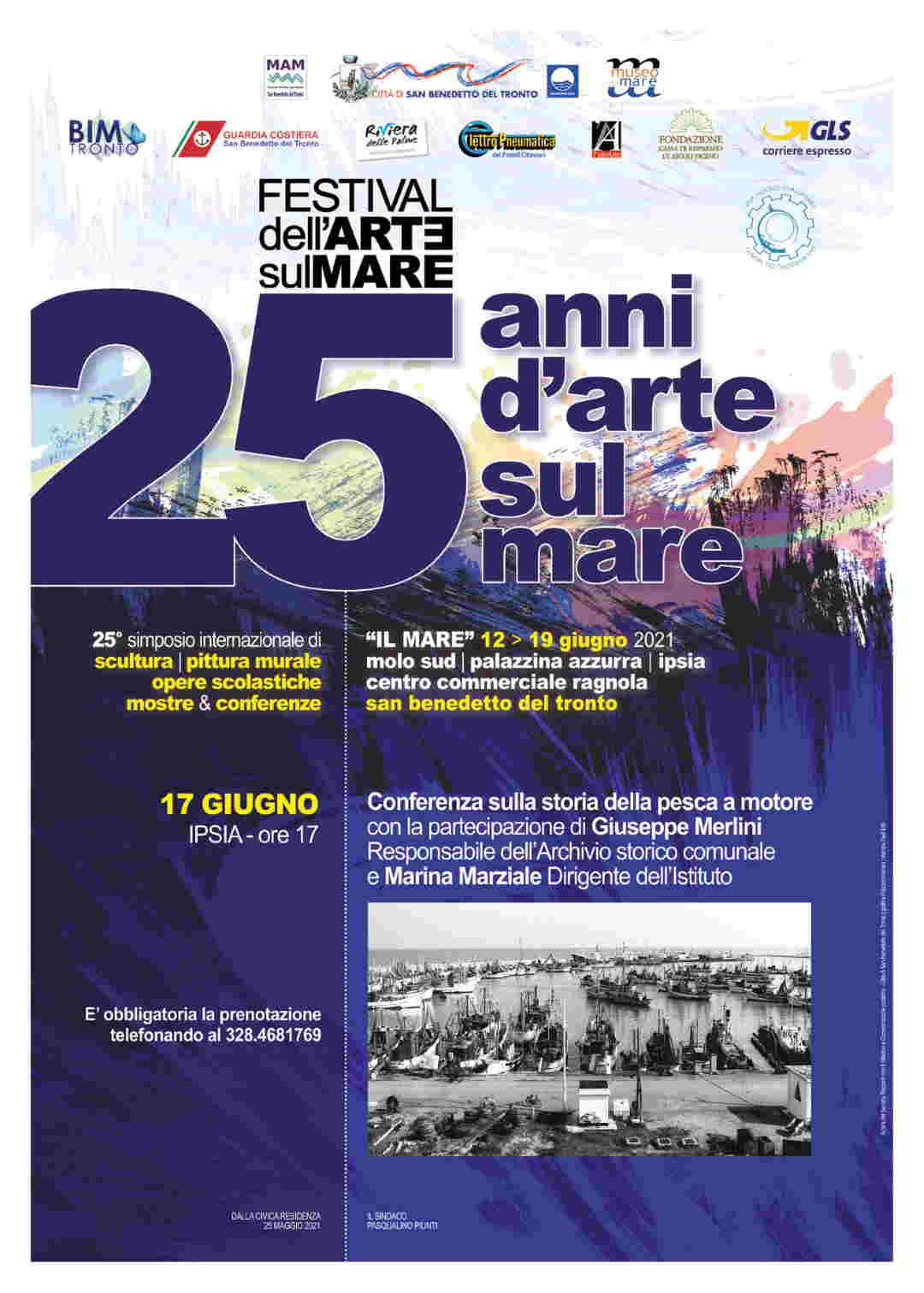 Festival dell'Arte sul Mare: Conferenza sulla Storia della Pesca a Motore
