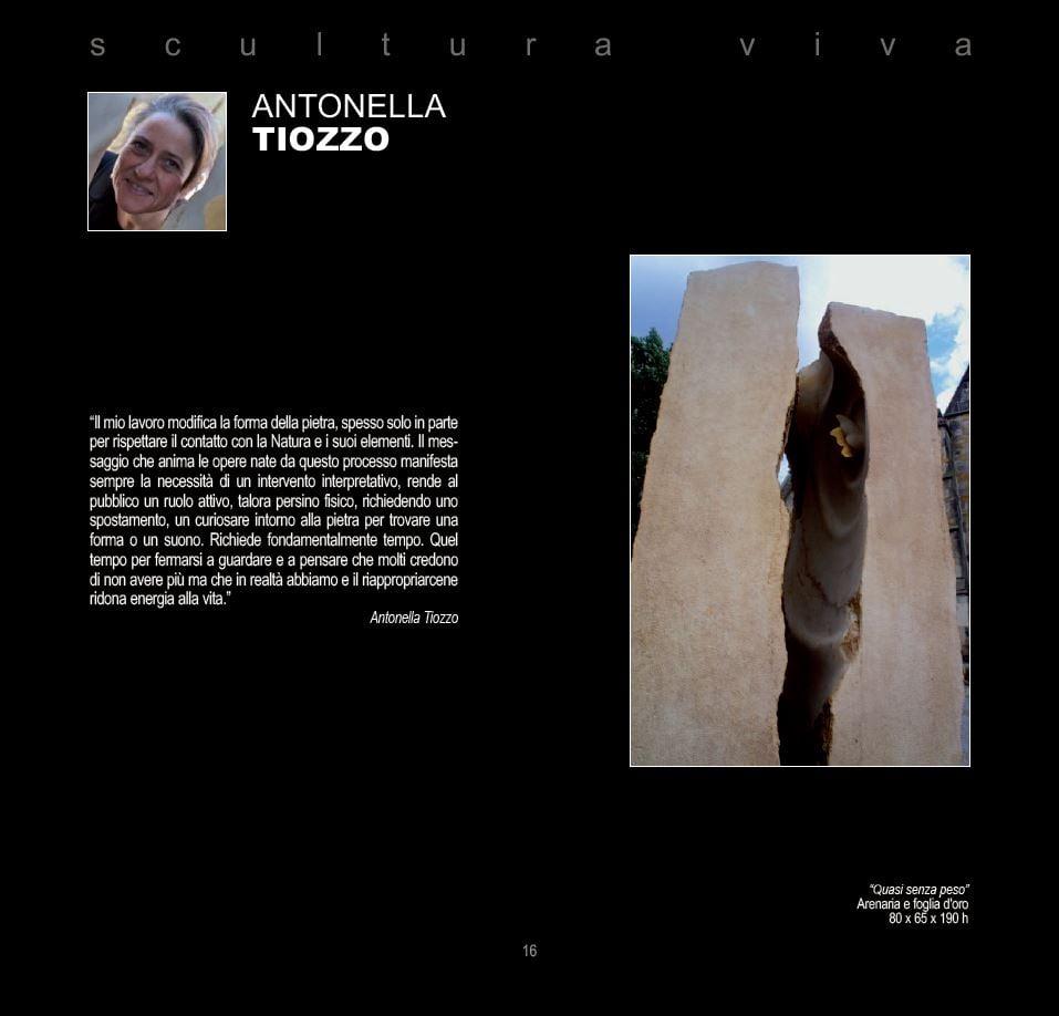 Verso il Festival dell'Arte sul Mare 2021: Antonella Tiozzo