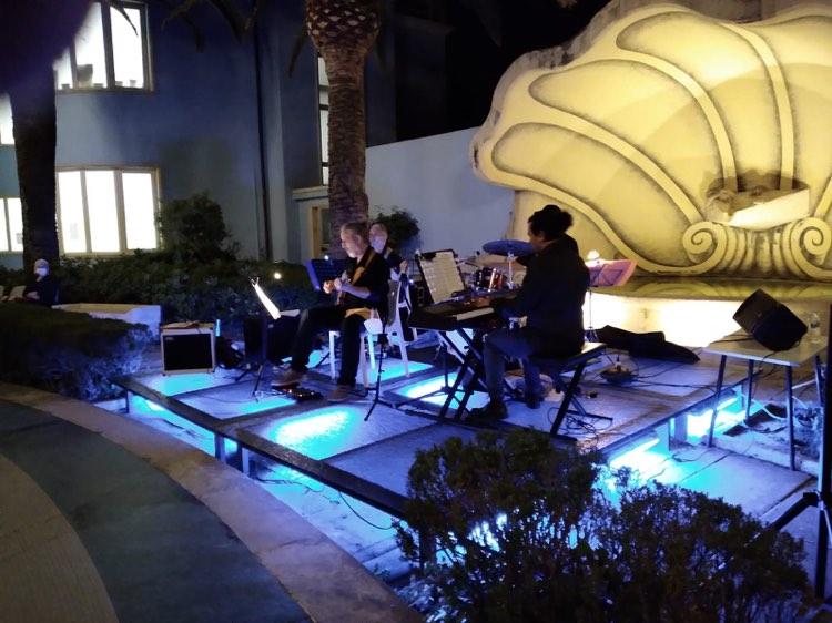 "Bella ""Serata Jazz"" con Giacinto Cistola alla Palazzina Azzurra"