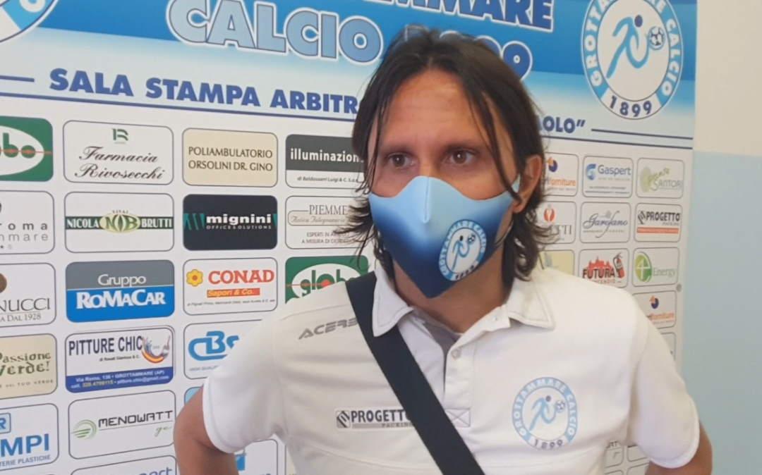 Grottammare Calcio riconferma mister Zazzetta
