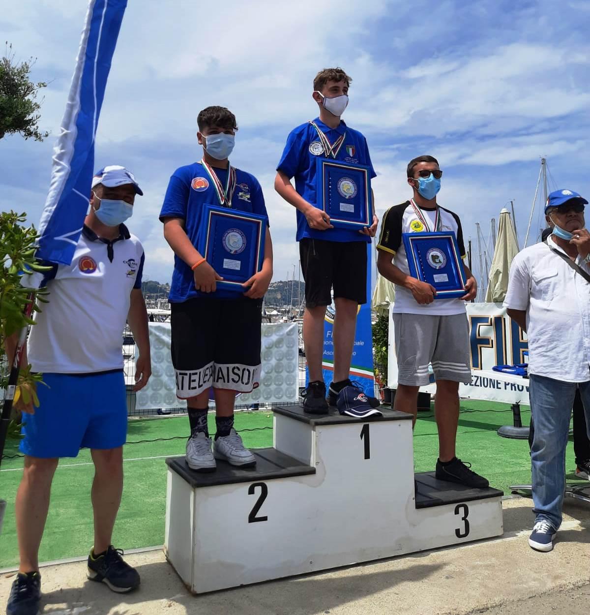 Pesca sportiva, canna da riva U21: il 13nne Nicholas Di Massimo è il nuovo campione italiano