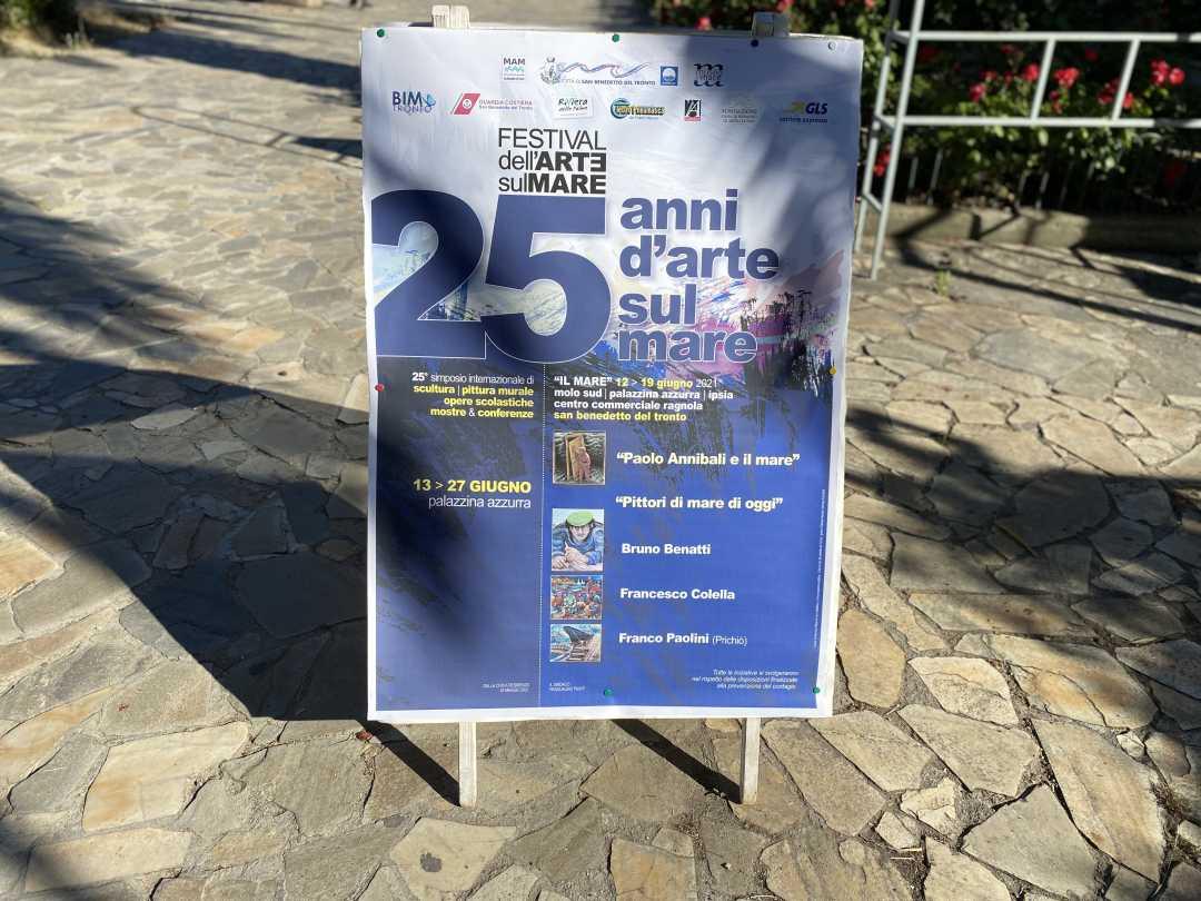 """Festival dell'Arte sul Mare, """"Paolo Annibali e il Mare"""" e """"Pittori di Mare di oggi"""" in Palazzina Azzurra"""