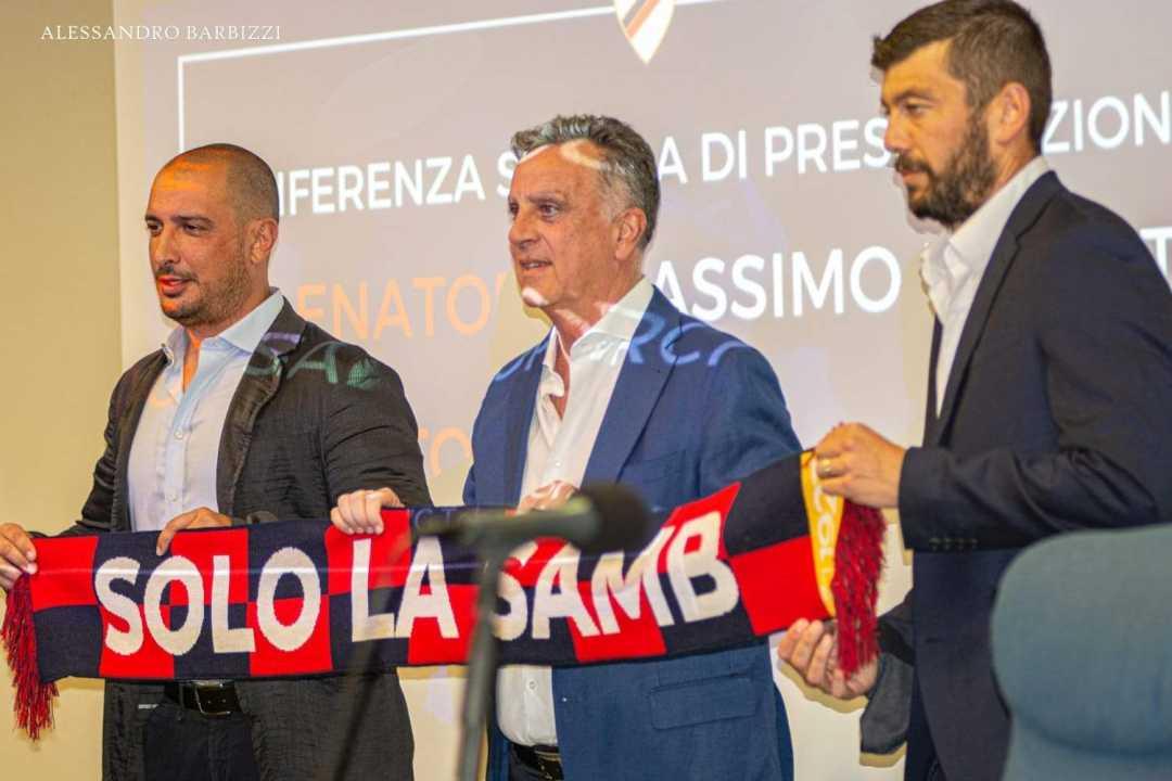 Samb, il Presidente Renzi presenta il Mister Donati e il Ds Porchia: le interviste