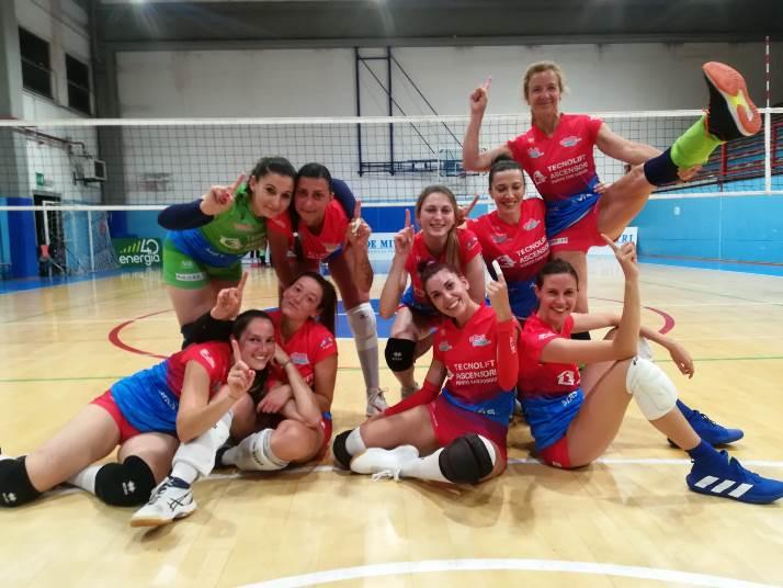 Coppa Italia Divisione Femminile, la Volley Angels conclude al primo posto del girone