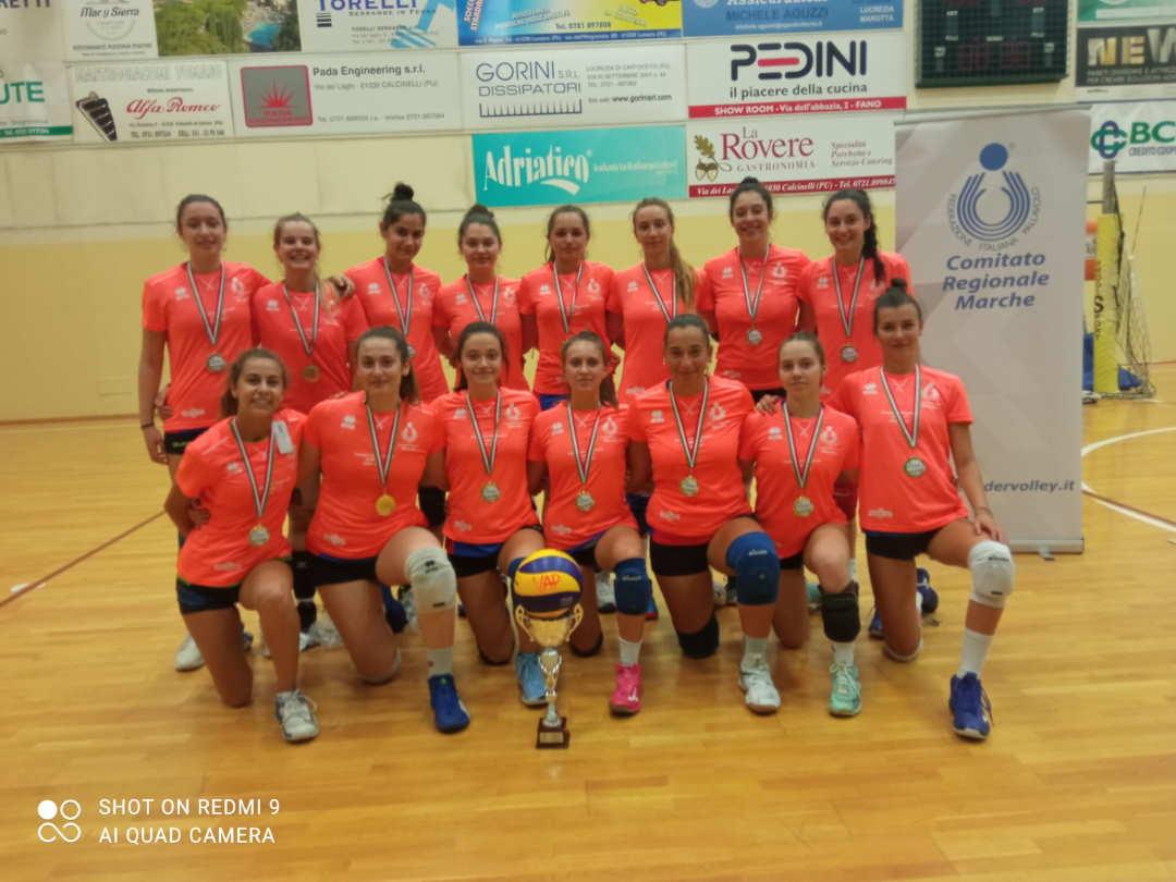 La Volley Angels fem campione regionale U 17