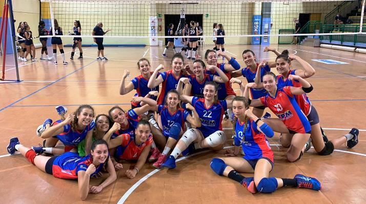 La Volley Angels raggiunge la finale regionale Under 17