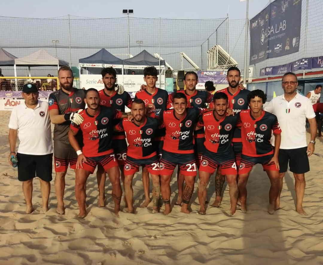 Beach soccer, la Samb c'è, ma Catania vince ancora