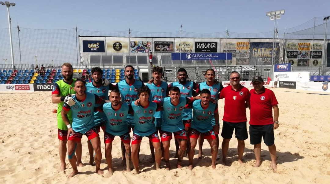 Samb Beach soccer show all'esordio in Coppa Italia