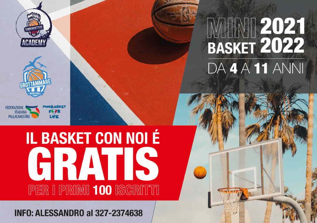 Minibasket: Samb Basket e Grottammare Basketball presentano il proprio staff tecnico