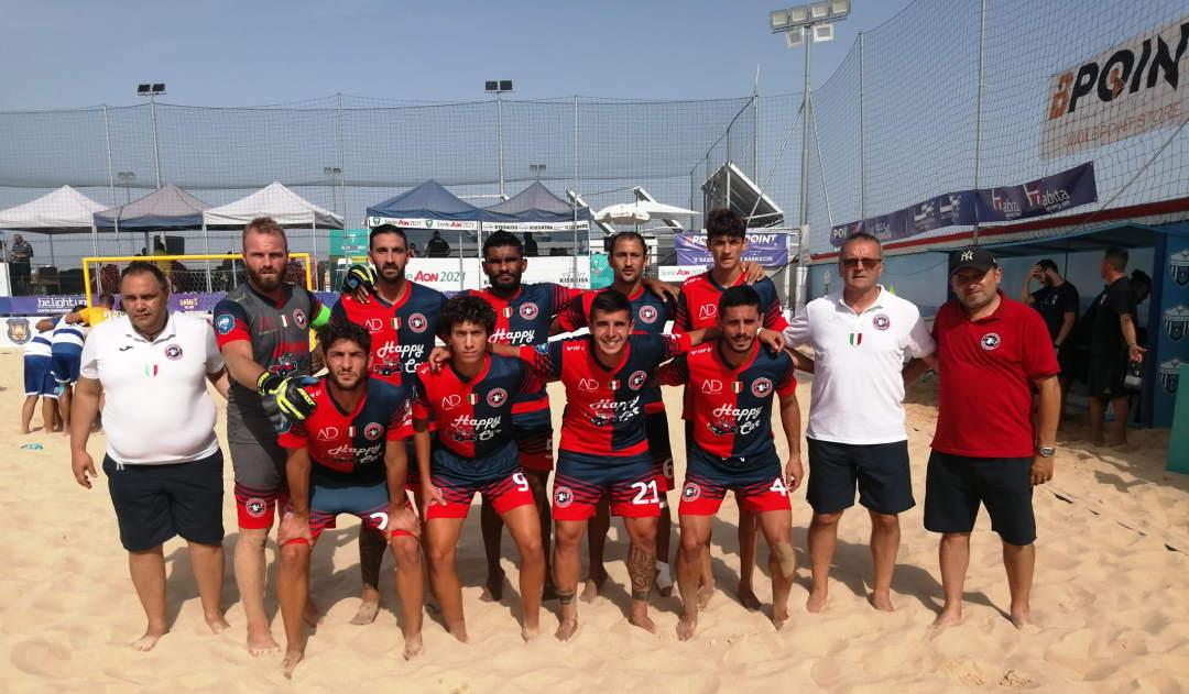 La Samb Beach Soccer chiude terza in Coppa Italia