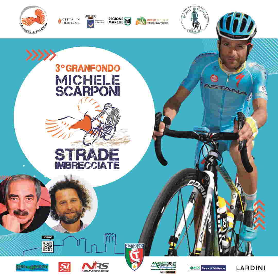 3a Granfondo Michele Scarponi, Strade Imbrecciate per la Sicurezza sulle Strade