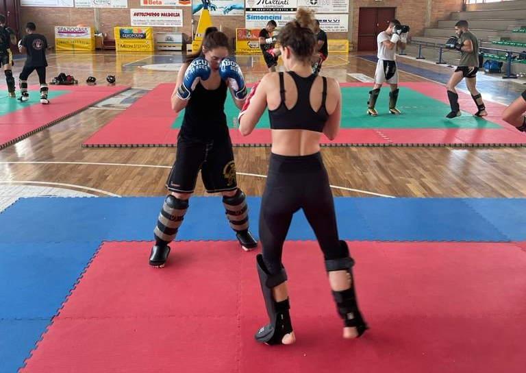 Mondiali kickboxing, la Nazionale azzurra si allena a Cupra Marittima