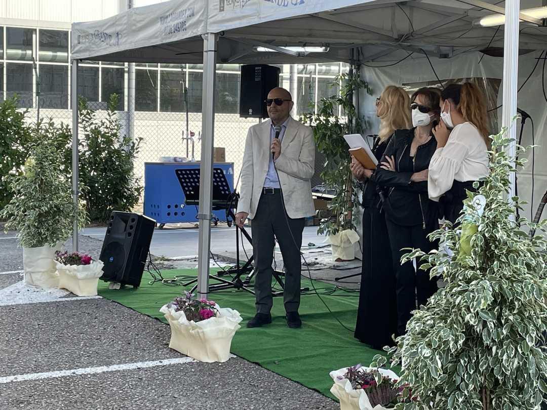 Centenario Unione Ciechi, il presidente nazionale Barbutoad Ascoli per la cerimonia di premiazione