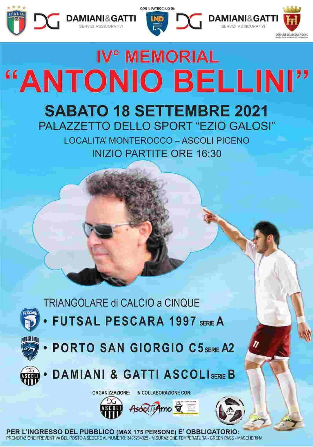 Memorial Antonio Bellini