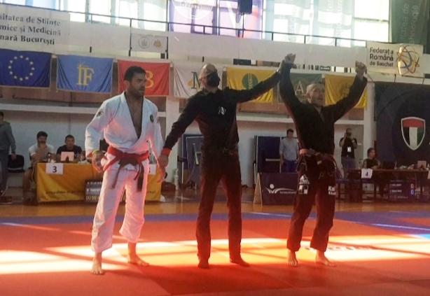 Brasilian jiu jitsu, a Francesco Mininni il National Romania
